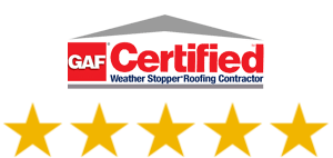 TOP Rated GAF Certified Roofing Contractor